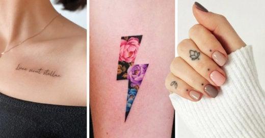 20 Delicados tatuajes para un toque chic a tu personalidad