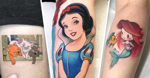 19 Tatuajes con tus personajes Disney favoritos
