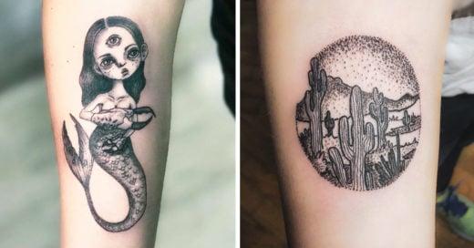 15 Tatuajes que son un reflejo del arte, la elegancia y la sutileza