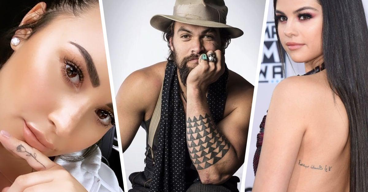 13 Tatuajes de celebridades con un significado poco conocido
