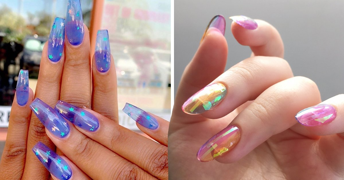 15 Pruebas de que las uñas gelatina son la tendencia del momento
