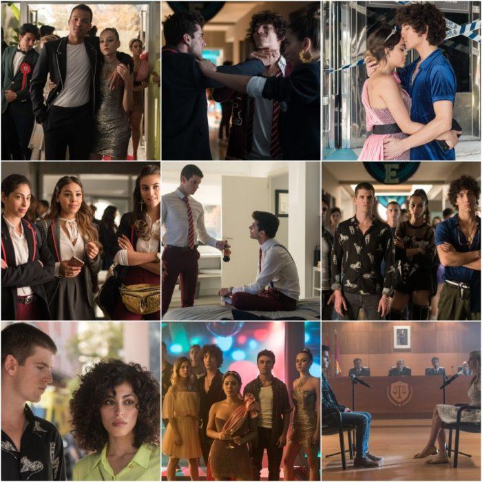 Escenas promocionales de Élite tercera temporada
