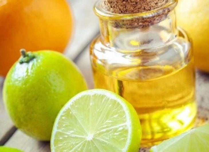 Aceite de coco y limón