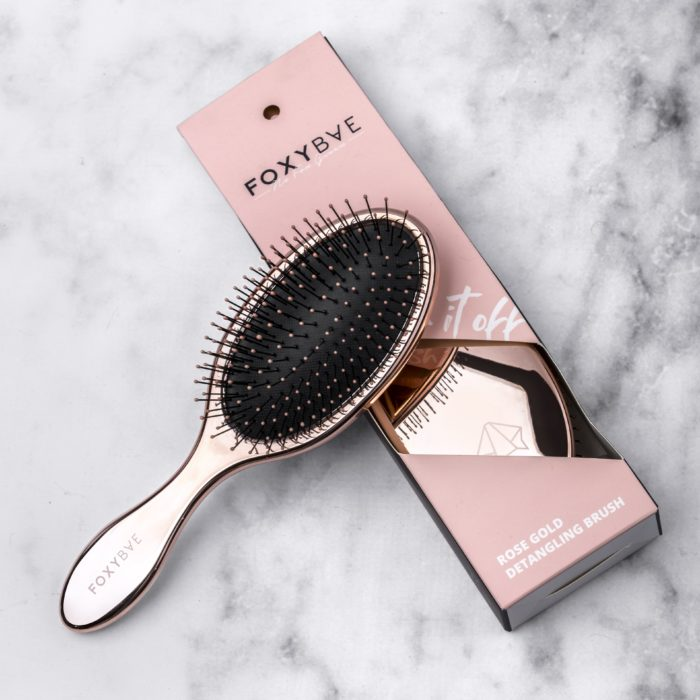 Cepillo acolchado o para desenredar para cabello lacio y delgado