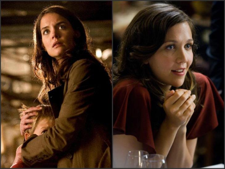 Katie Holmes sustituida por Maggie Gyllenhaal en la película Batman inicia
