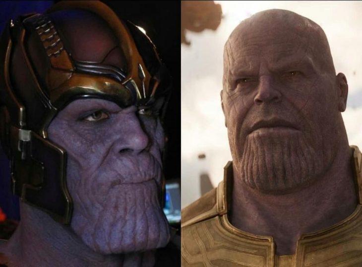 Damion Poitier sustituido por Josh Brolin en el papel de Thanos