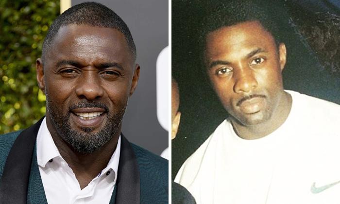 Idris Elba en la etapa adulta y en su juventud