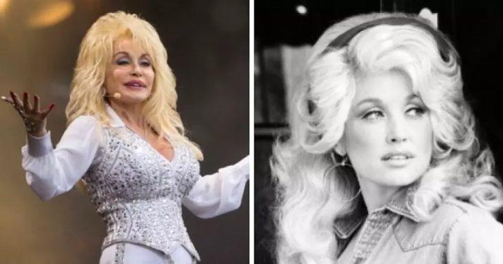 Dolly Parton en la etapa adulta y en su juventud