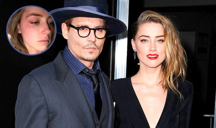 Amber Heard acusa Johnny Depp de violencia domestica y muestra marcas