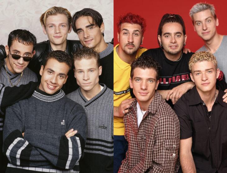 Los Backstreet Boys quieren hacer una gira con NSYNC; Justin Timberlake, Jc Chasez, Chris Kirkpatrick, Joey Fatone, Lance Bass, Nick Carter, AJ McLean, Howie Dorough, Kevin Richardson, Brian Littrell
