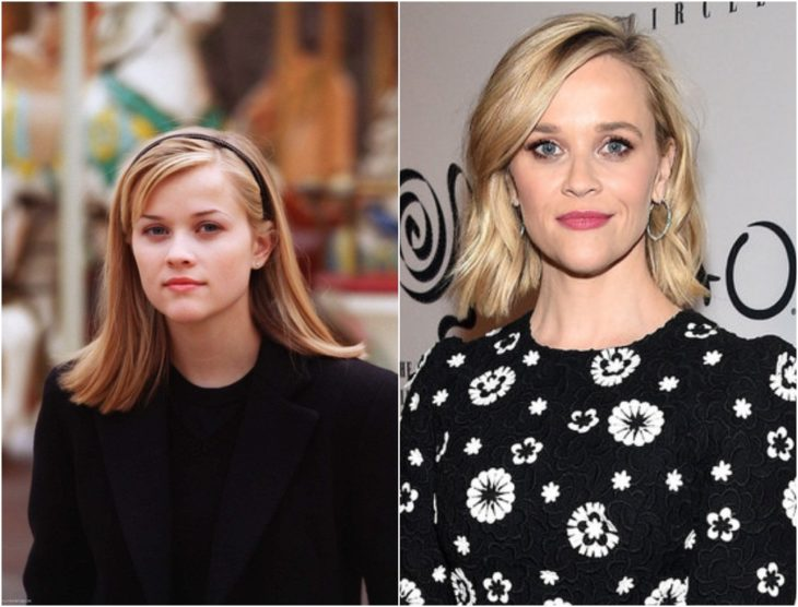 Reese Whiterspoon en su juventud y en la actualidad 2020