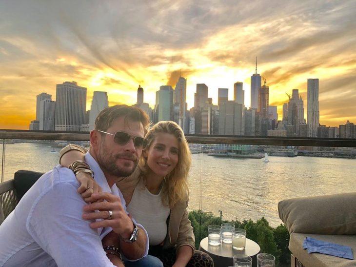 Chris Hemsworth y Elsa Pataky se llevan 7 años