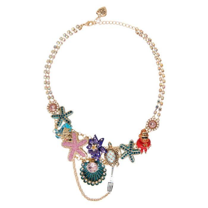 Collar de La Sirenita; colección de Betsey Johnson y Disney Parks