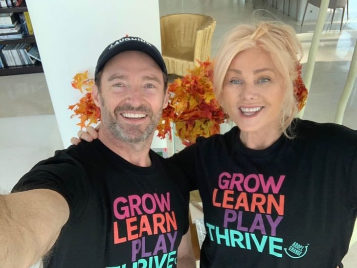 Deborra-Lee Furness y Hugh Jackman se llevan 12 años