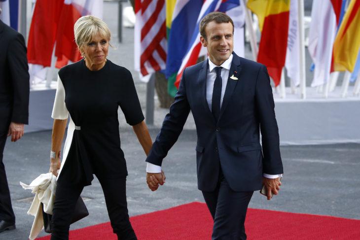 Emmanuel Macron y Brigitte Trogneux se llevan 25 años