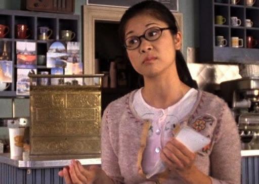 Keiko Agena mejor amiga de Rory en Gilmore Girls