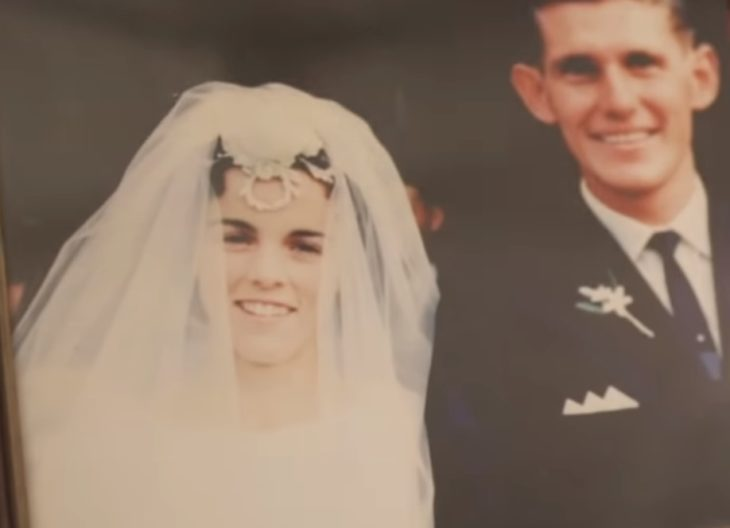 Foto de Bill y Glad del día de su boda