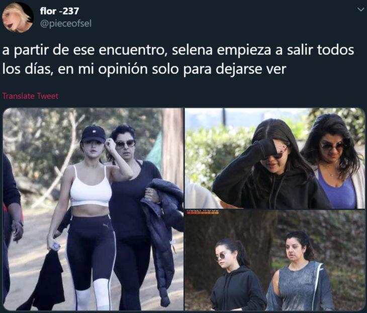 Usuaria de Twitter cree que Selena Gomez fue secuestrada y suplantada por una doble