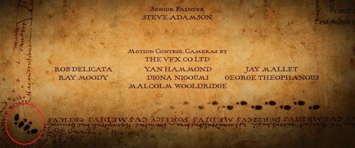 Mapa del merodeador de Harry Potter y el Prisionero de Askaban