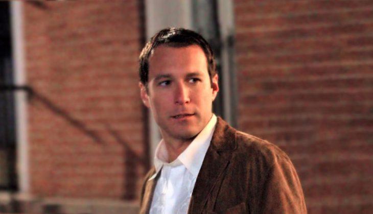 Aidan Shawen una de las escenas de la serie Sex and the city