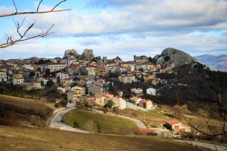 Molise, Italia zona alejada de infraestructura a campo abierto