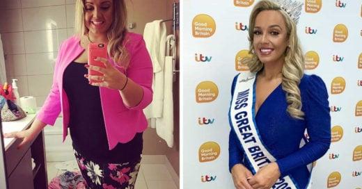 Jen Atkin pierde más de 50 kilos; es ganadora de concurso de belleza