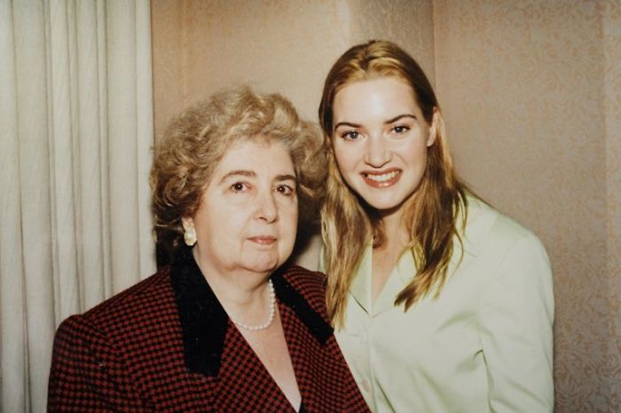 Maria Snoeys-Lagler y Kate Winslet
