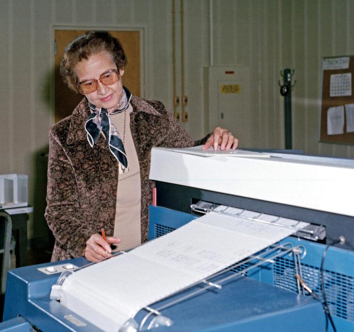 Katherine Johnson, matemática y científica de la NASA