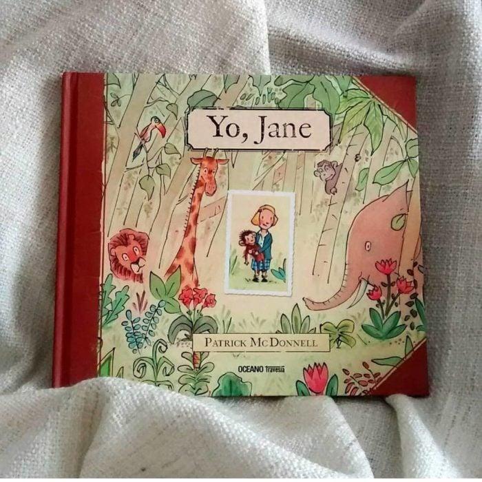Portada del libro Yo, Jane de Patrick McDonnell