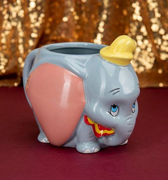 Taza cafetera inspirada en Dumbo de Disney