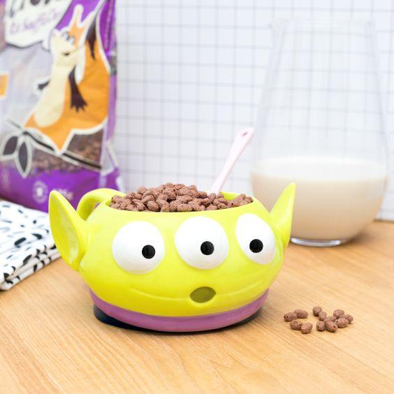 Taza cafetera inspirada en los marcianitos de Toy Story