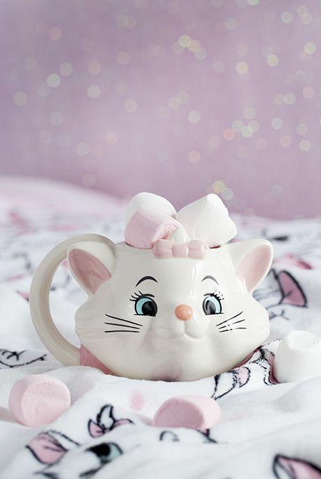 Taza cafetera inspirada en Marie de Los Aristogatos de Disney
