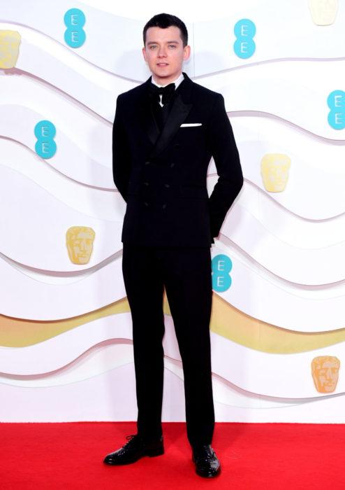 Mejores looks de la alfombra roja de los premios BAFTA 2020; Asa Futterfield