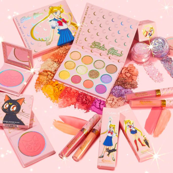 Maquillaje ColourPop de Sailor Moon