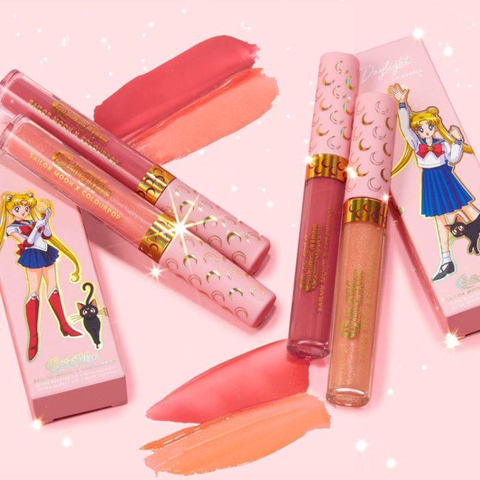 Maquillaje ColourPop de Sailor Moon; labiales