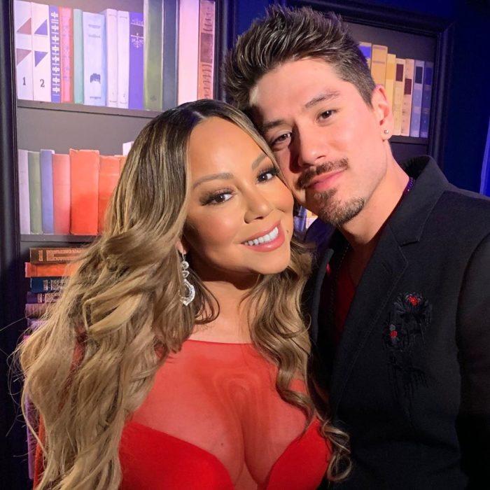 Mariah Carey y Bryan Tanaka se llevan 13 años
