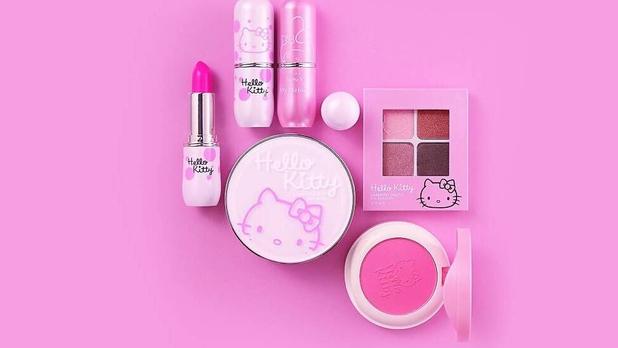 Linea de maquillaje de mi Miniso creada por Hello Kitty