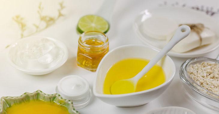 Mascarilla de naranja, limón y miel