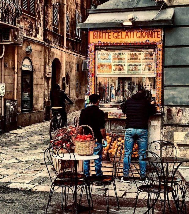 Negocio de comida en Molise