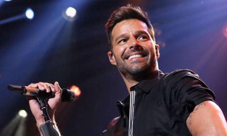 Ricky Martin durante un concierto