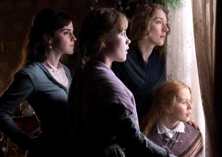 Películas basadas en libros; Mujercitas, Emma Watson, Florence Pugh, Eliza Scanlen, Saoirse Ronan