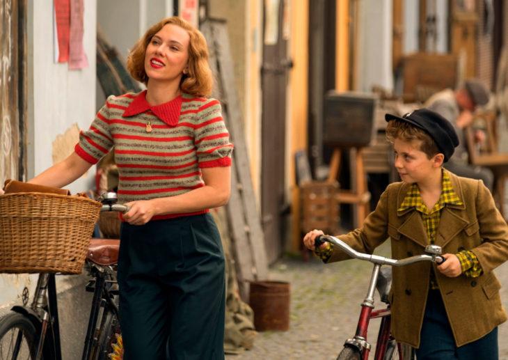 Películas basadas en libros; Jojo Rabbit, Scarlett Johansson y Roman Griffin Davis