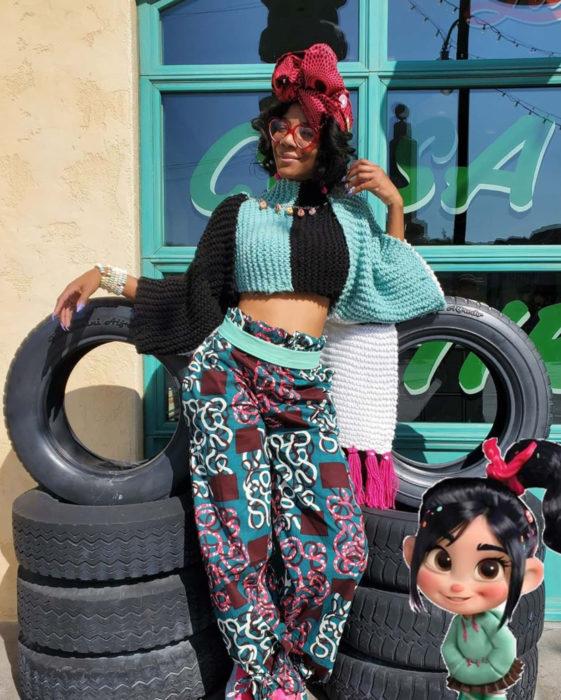 Mujeres afroamericanas recrean a las princesas Disney en versión negra para el Mes de la Historia Negra; Vanellope