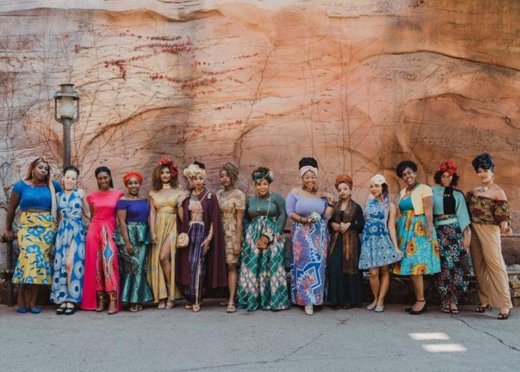 Mujeres afroamericanas recrean a las princesas Disney en versión negra para el Mes de la Historia Negra