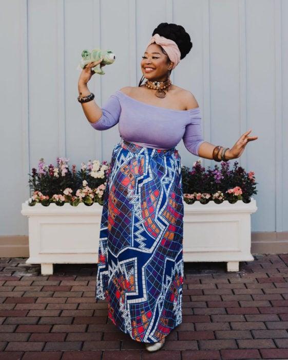 Mujeres afroamericanas recrean a las princesas Disney en versión negra para el Mes de la Historia Negra; Rapunzel