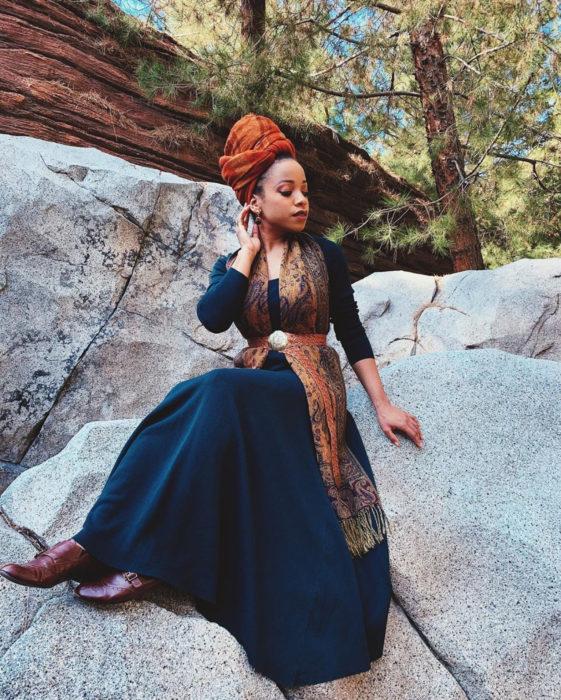 Mujeres afroamericanas recrean a las princesas Disney en versión negra para el Mes de la Historia Negra; Merida