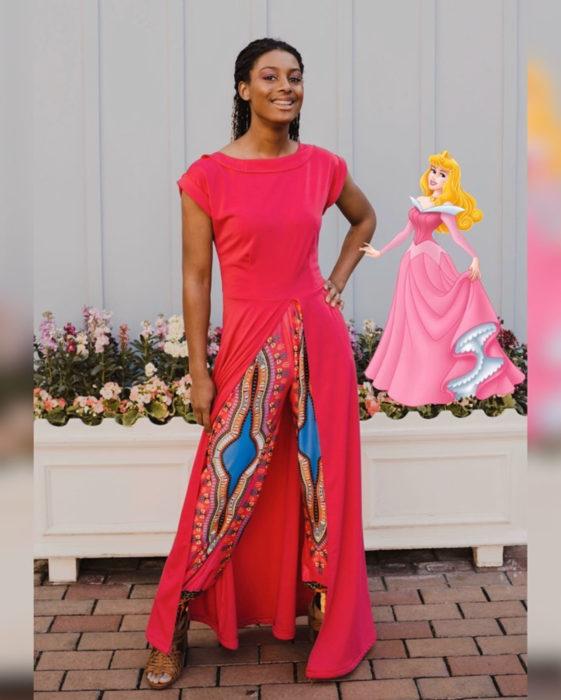 Mujeres afroamericanas recrean a las princesas Disney en versión negra para el Mes de la Historia Negra; Aurora