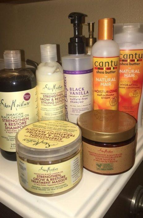 Diversos productos para el cabello