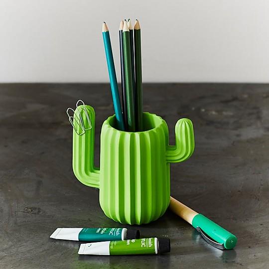 Lapicero en forma de cactus