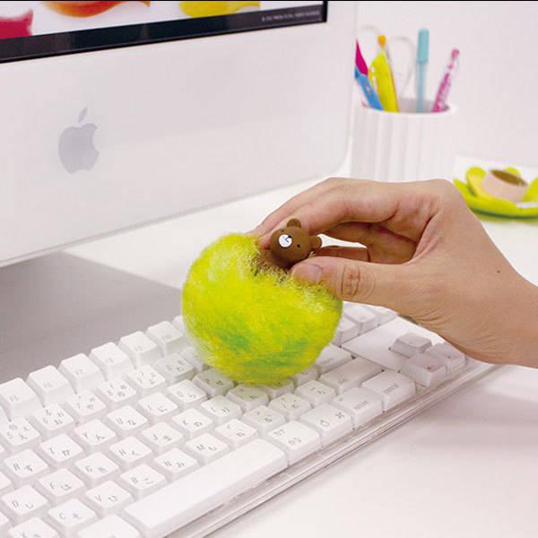 Brocha limpiadora de teclado